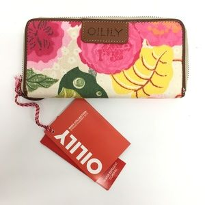 New Oilily Floral Long Wallet #12